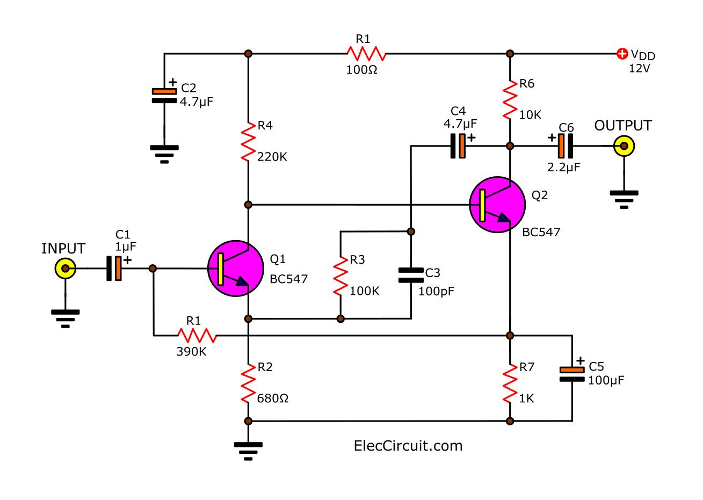 wiring machine microphone echo circuit diagram rh doyourwire blogspot com