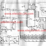 Multi function digital frequency meter circuit 0-100MHz