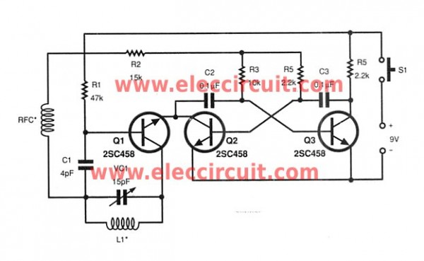 transmitter-of-small-rf-universal-remote-controls
