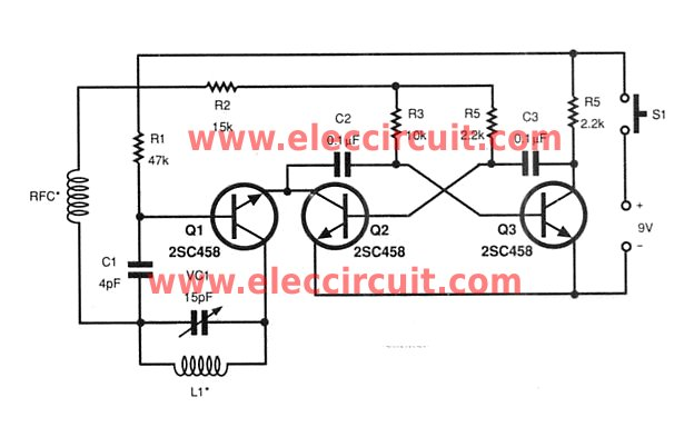 small rf universal remote controls electronic projects circuits