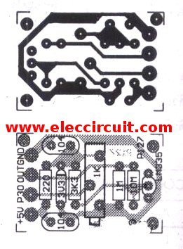 pcb-of-digital-temperature-sensor-circuit-using-lm335z
