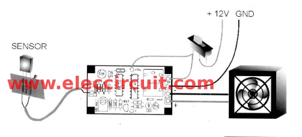 Automatic Fan Controller for Heatsink