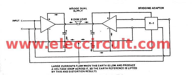 Bridge Integrated Power Amplifier Circuit Othercircuit Amplifier