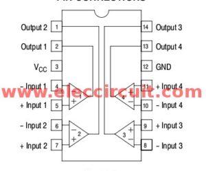 LM339 Datasheet – Quad Comparator IC