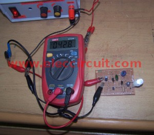 measure current of this circuit