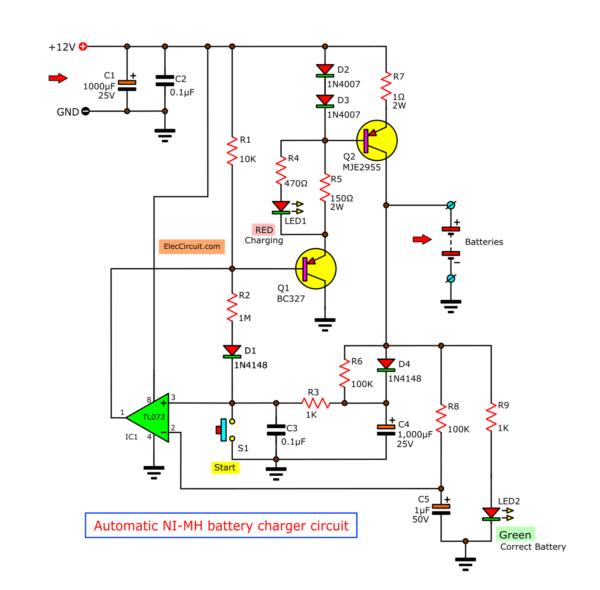 NI-mh-battery-charger-circuit-using TL072