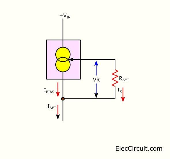 LM334 Basic circuit