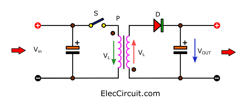 the-basic-flyback-converter-circuit