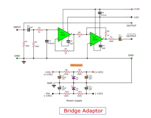 the-bridge-adapter-project-using-ne5534