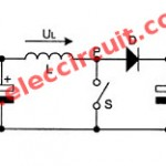 USB 5v to 12v dc-dc step-up converter circuit