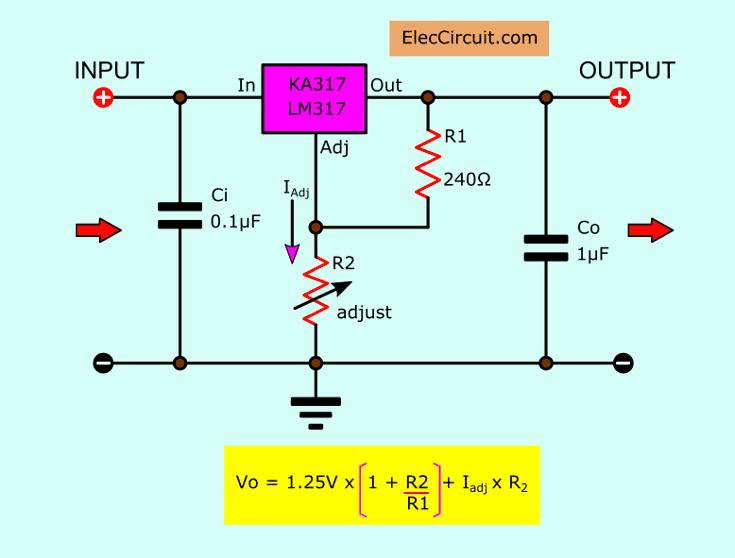 Lowvoltage Power Supply Circuit Diagram Electronic Circuits Diagram