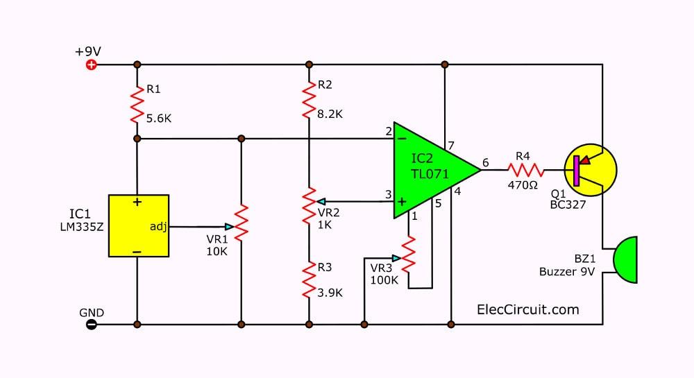heat sensor with fan cooling using ic 741 pdf