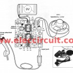 Telephone pickup circuit with small amplifiers using LM358
