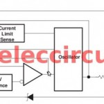 Switched mode power supply schematic using TL497