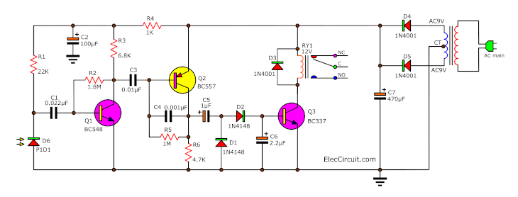 IR – infrared receiver and remote tester circuit
