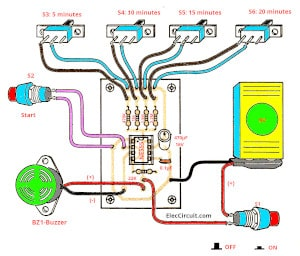 555 Timer Circuit Pcb Great Installation Of Wiring Diagram Pwm Controller With Chip 5 30 Minuts Using Ic Rh Eleccircuit Com