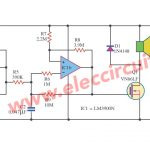 Two tone alarm with LM3900