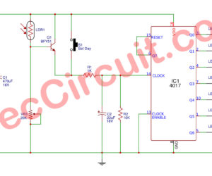 Automatic Day Indicator Circuit