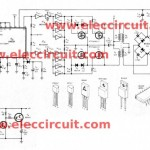 CAR DC to DC converter circuit, output +/- 27V to +/-50V using LM3524