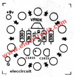 components-of-10-led-flasher-using-multivibrator-transistor