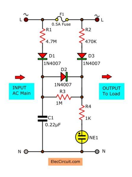 blown fuse indicator light flashing