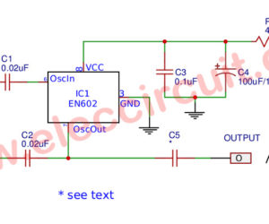 Sine Wave Generator Circuit With Double Balance Mixer IC
