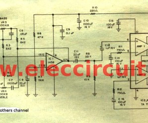 19W stereo integrated amplifier IC-TA7240AP