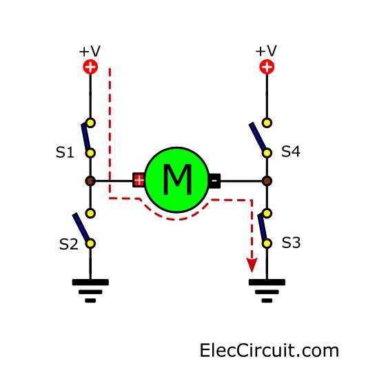 S1 S3 make motor works