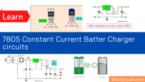 7805 Constant Current Batter Charger circuit