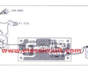 7805 constant current circuit for battery charger