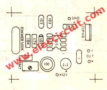 actual-size-single-sided-pcb-layout