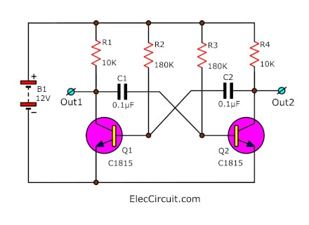 simple inverter circuit using 6 transistor how to rewire a 240v generator to 120v wiring 240v 50 hz generator schematic