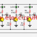 Simple Astable Multivibrator Circuit Using Cd4047 Cmos