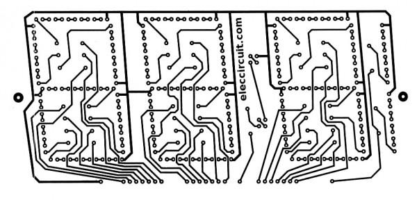 Led-display-pcb-layout