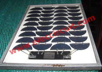 12V 20W solar cells as source charger