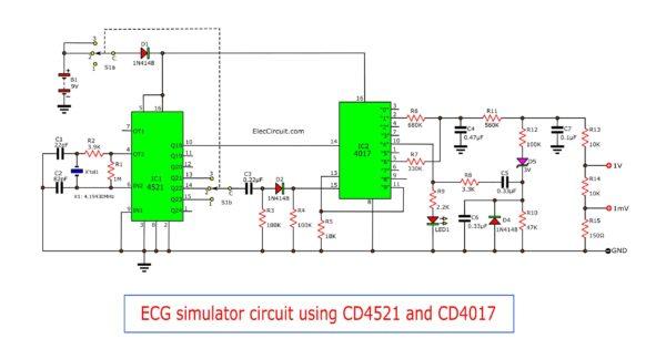 ECG-simulator-circuit