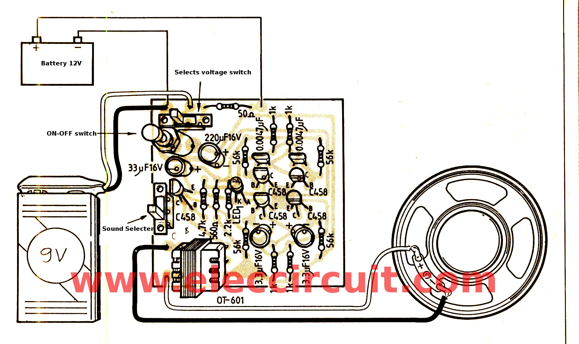 Electronics Projects 2015 Experiments With Lm358 Buildcircuit Components Layout And Wiring