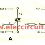 Simple SCR tester circuit diagram