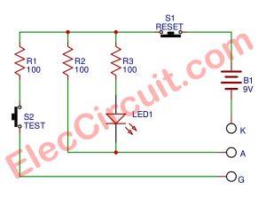 Perfect SCR tester circuit