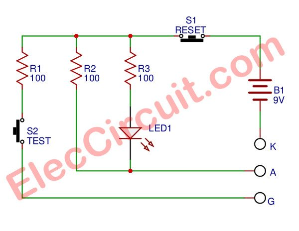 Perfect SCR tester circuit