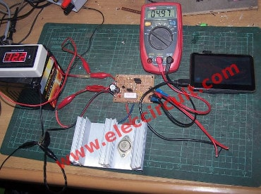 12V to 5V converter for GPS testing