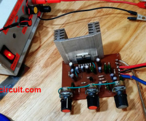 Build 20W Integrated Amplifier with tone control