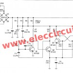 AC 220V siren circuit using transistors
