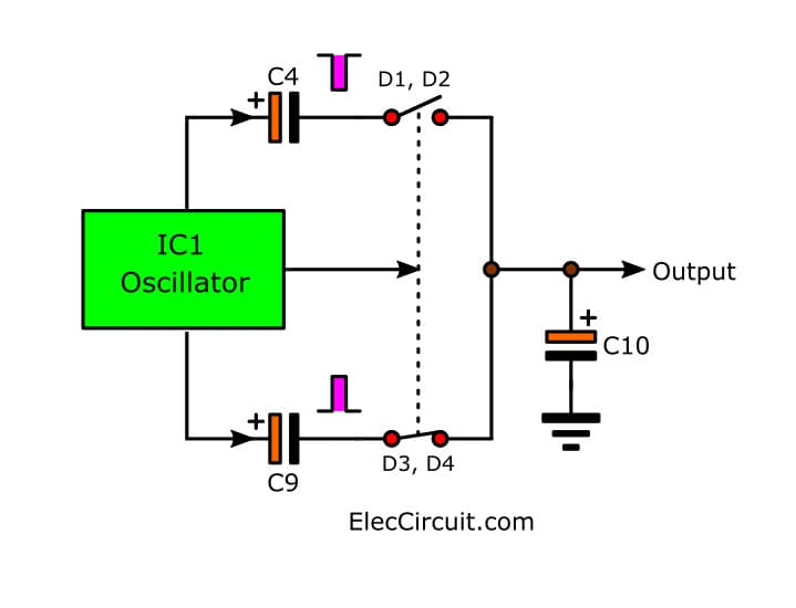 Power Supply Circuit Diagram furthermore Radio Block Diagram furthermore Simple Dc To Dc Step Up Converter Using Tda2822 additionally Simple Dc To Dc Step Up Converter Using Tda2822 in addition Dc Boost Converter Circuit 3 3 5v To 12v 13 8v. on simple dc to step up converter using tda2822