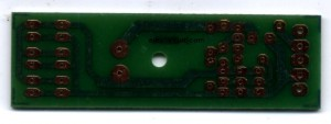 Real PCB of high power 6 led flashlight for aa battery