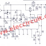 0-50v variable power supply circuit, at 3A