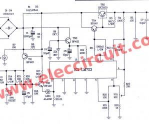 0-50v variable power supply circuit, at 3A