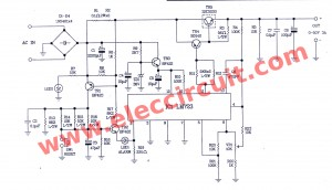 Variable    power       supply       circuit     050v at 3A with PCB  ElecCircuit