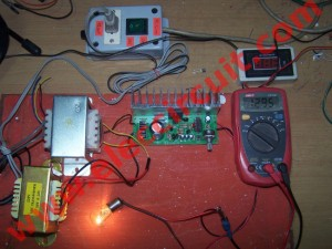 0-50v variable power supply circuit, at 3A using LM723