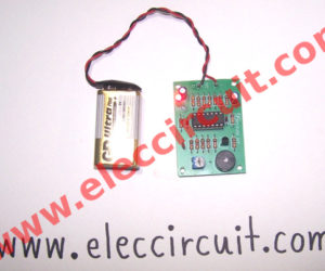 cricket sound effect circuit with buzzer using LM324